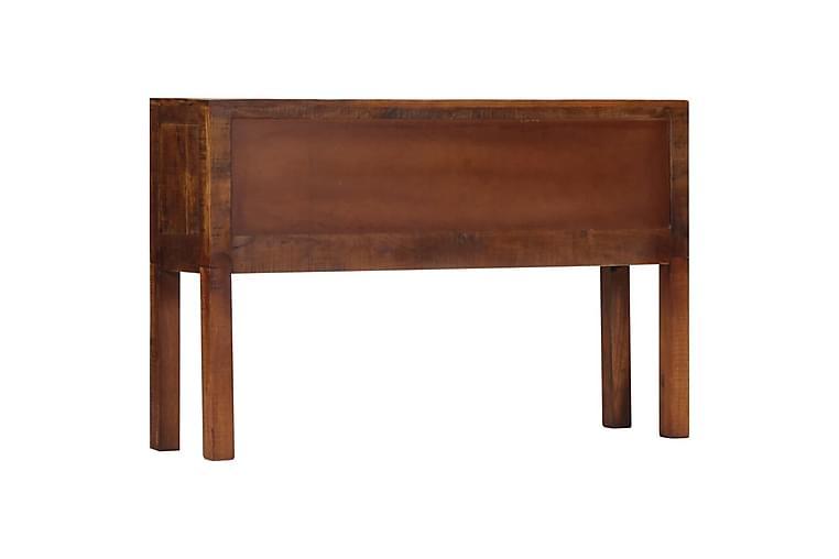 Sivupöytä 118x30x75 cm mangopuu - Ruskea - Huonekalut - Säilytys - Senkit