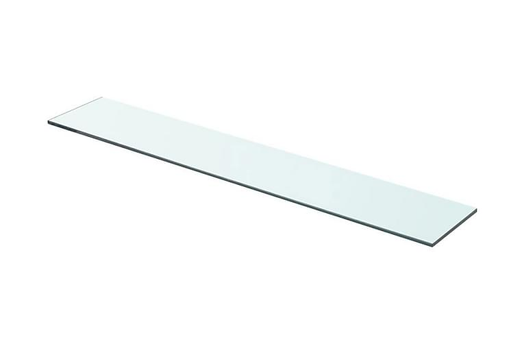 Hyllypaneeli Kirkas Lasi 70x12 cm - Läpinäkyvä - Huonekalut - Säilytys - Vaatekaapit