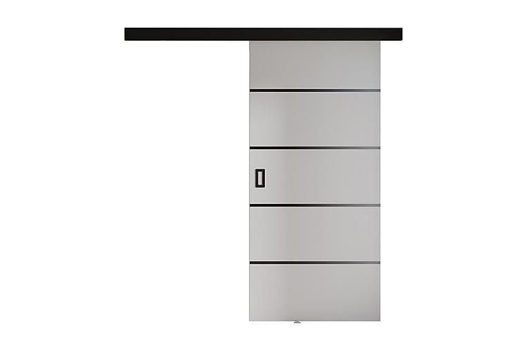 Liukuovi 204 cm - Valkoinen - Huonekalut - Säilytys - Vaatekaapit
