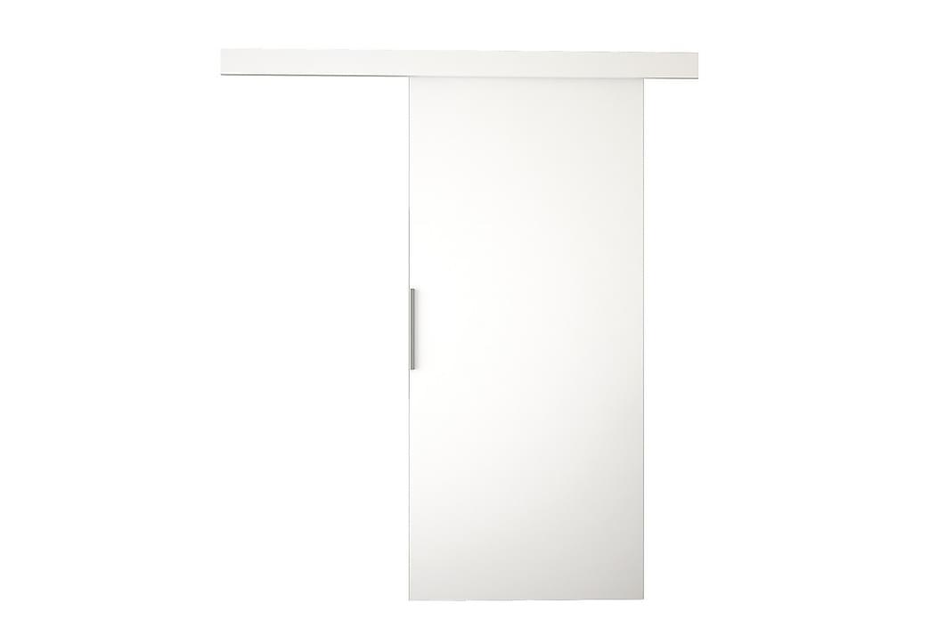 Liukuovi Nemanja 86x205 cm - Valkoinen - Huonekalut - Säilytys - Vaatekaapit