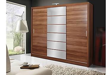 Malibu Vaatekaappi 250x61x215 cm