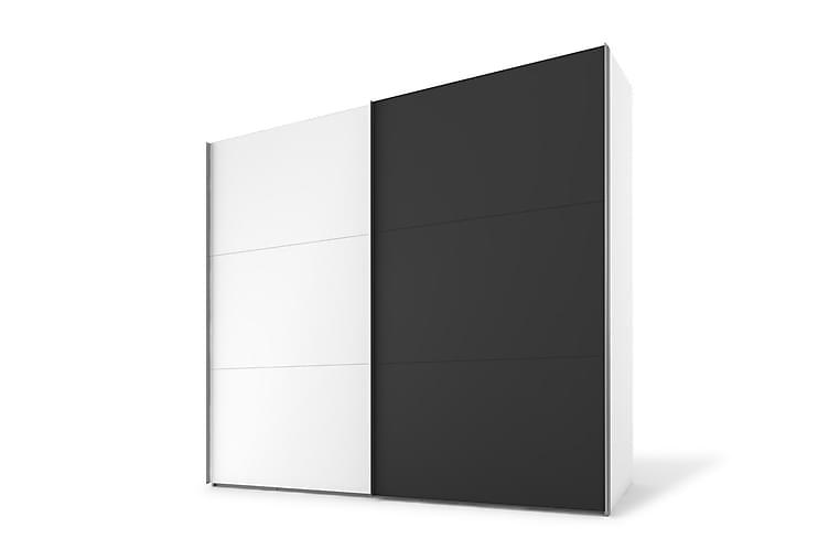 Vaatekaappi Dundridge 200 cm - Monivärinen - Huonekalut - Säilytys - Vaatekaapit
