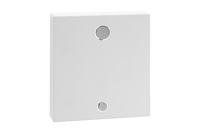 Naulakko Plus 8 17 cm - Valkoinen - Sisustustuotteet - Naulakot - Koukkunaulakot