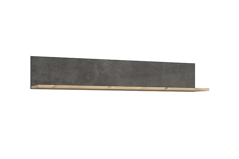 Naulakko Wroxham 160 cm - Ruskea/Harmaa - Sisustustuotteet - Naulakot - Koukkunaulakot