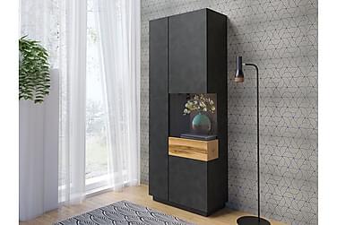 Silke Vitriinikaappi 80x40x207 cm