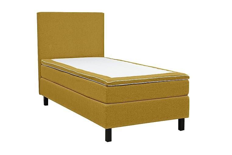 Sänkypaketti Juliett 120x200 cm - Keltainen - Huonekalut - Sängyt - Jenkkisängyt