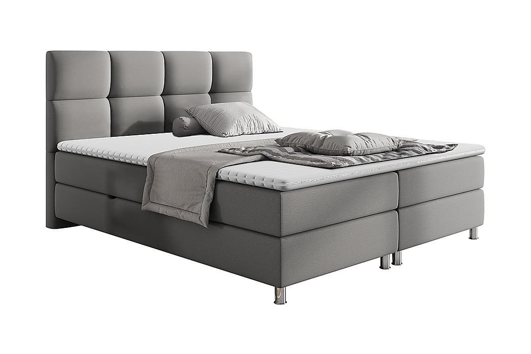 Sänkypaketti Riells 160x200 cm - Beige - Huonekalut - Sängyt - Jenkkisängyt