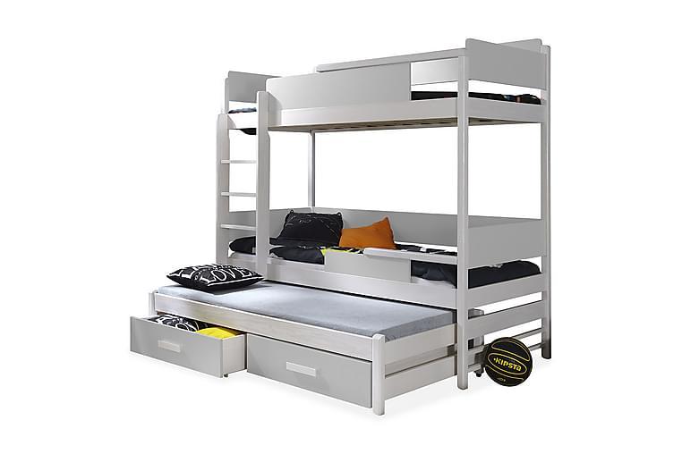 Sänky Codes 80x180 cm - Valkoinen - Huonekalut - Sängyt - Kerrossängyt