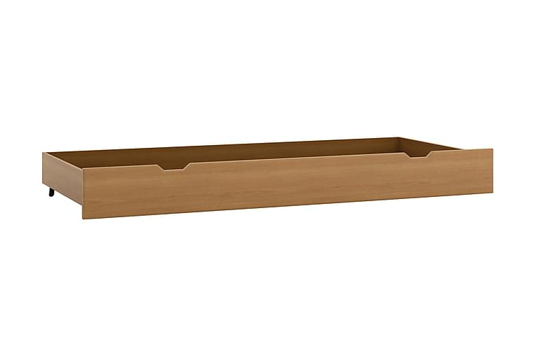 Säilytyslaatikko sänkyyn Kenrada 159 cm - Puu/Tumma - Sisustustuotteet - Sisustuslaatikot & korit - Laatikot