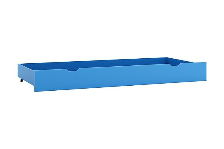 Säilytyslaatikko sänkyyn Kenrada 159 cm - Sininen - Sisustustuotteet - Sisustuslaatikot & korit - Laatikot