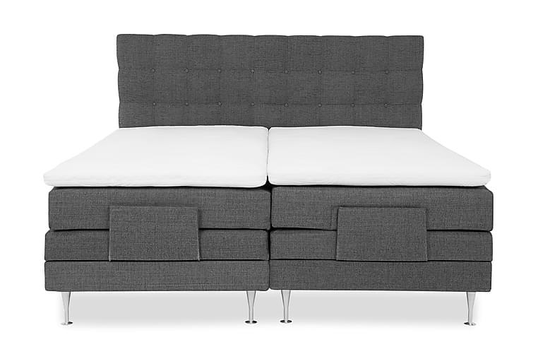 Säätösänkypaketti Lux 180x200 cm Harmaa - Huonekalut - Sängyt - Moottorisängyt