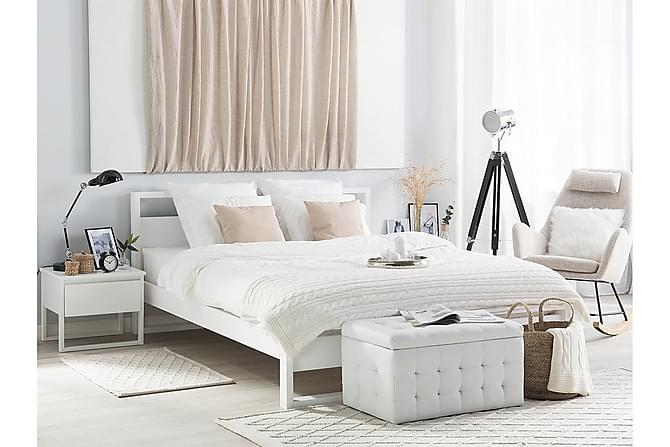 Parivuode Giulia 180x200 cm - Valkoinen - Huonekalut - Sängyt - Runkopatjasängyt