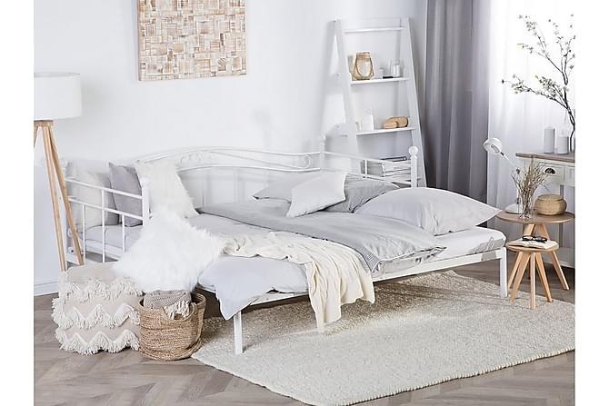 Parivuode Tulle 90-180x200 cm - Valkoinen - Huonekalut - Sängyt - Runkopatjasängyt