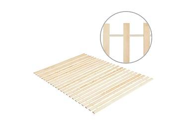 Käärittävä sängyn sälepohja 23 sälettä 100x200cm täysi mänty