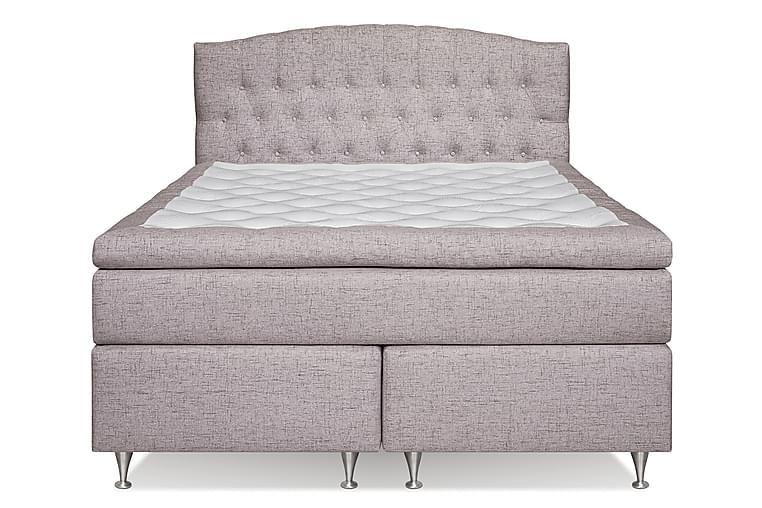 Sängynpääty Abelie 160 cm Kaareva - Beige - Huonekalut - Sängyt - Sängynpäädyt