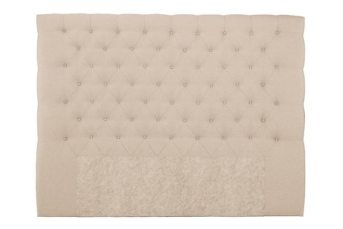 Sängynpääty Boxford 210 cm Korkea - Beige - Huonekalut - Sängyt - Sängynpäädyt