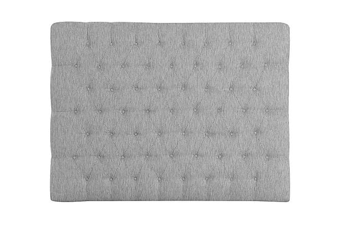 Sängynpääty Idolva 160 cm - Vaaleanharmaa - Huonekalut - Sängyt - Sängynpäädyt