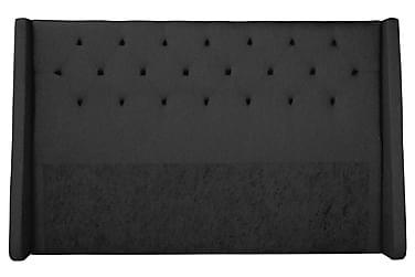 Sängynpääty Langham 210 cm Musta