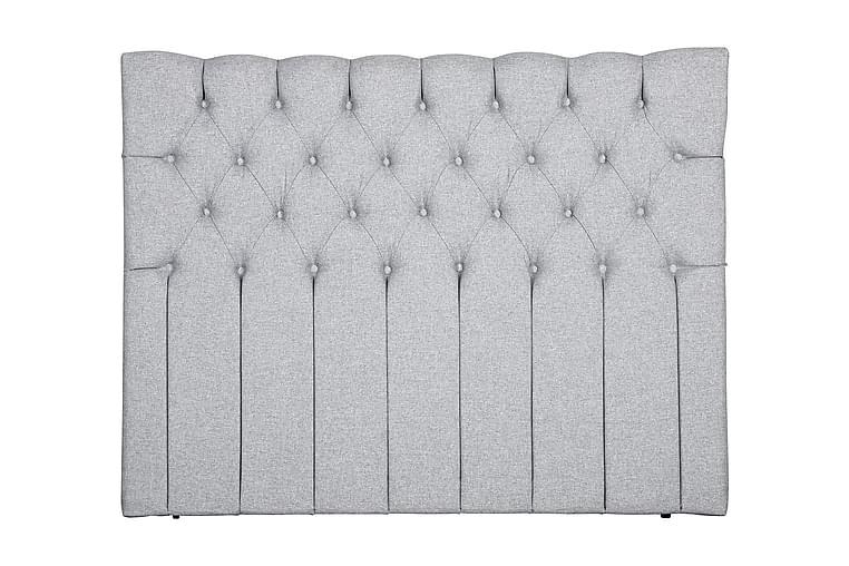Sängynpääty Slottstaden 180 cm - Harmaa - Huonekalut - Sängyt - Sängynpäädyt