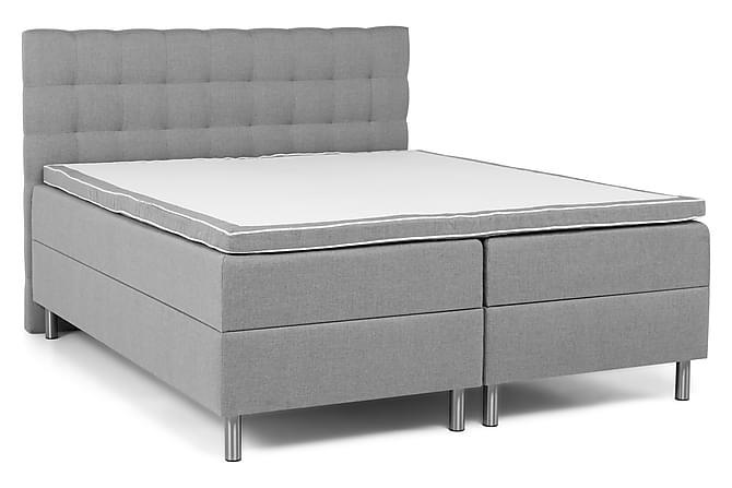 Säilytyssänkypaketti Suset 160x200 - Vaaleanharmaa - Huonekalut - Sängyt - Sänkypaketti