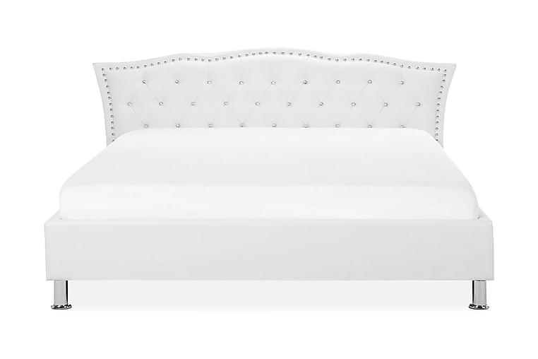 Parivuode Metz 180x200 cm - Valkoinen - Huonekalut - Sängyt - Sänkykehikot & sängynrungot
