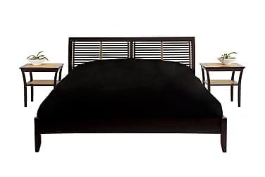 Sängynrunko Adelheid 180 cm 2 yöpöydällä