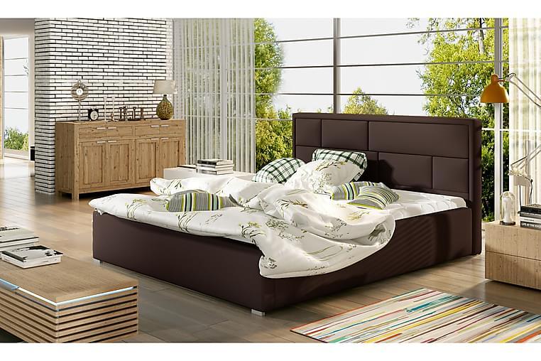 Sängynrunko Barronki 160x200 cm - Ruskea - Huonekalut - Sängyt - Sänkykehikot & sängynrungot