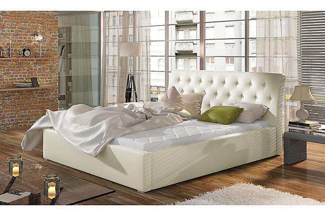 Sängynrunko Checa 180x200 cm - Beige - Huonekalut - Sängyt - Sänkykehikot & sängynrungot