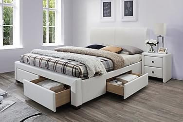 Sängynrunko Ewalt 160x200 cm Keinonahka