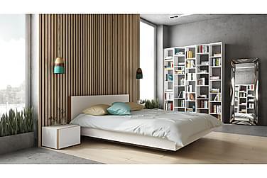 Sängynrunko Float 160x200 Valkoinen