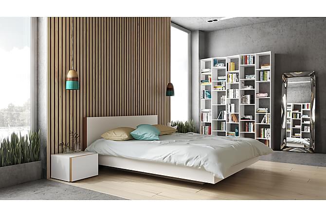 Sängynrunko Float 160x200 Valkoinen - Temahome - Huonekalut - Sängyt - Sänkykehikot & sängynrungot