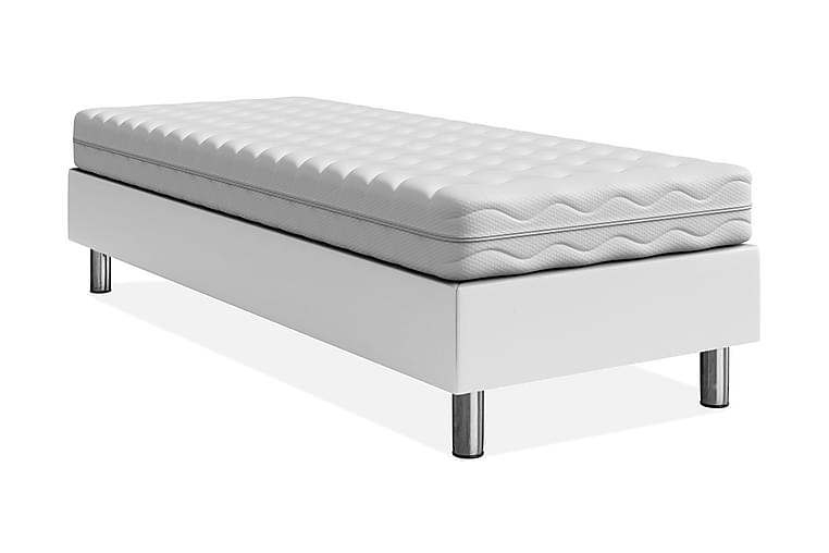 Sängynrunko Forenza 120x200 cm - Valkoinen - Huonekalut - Sängyt - Sänkykehikot & sängynrungot