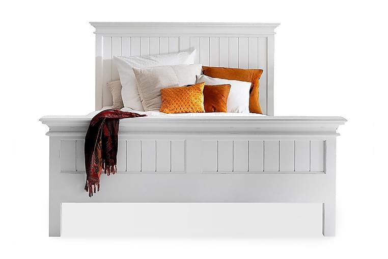 Sängynrunko Halifax 160x215 Queen Size - Valkoinen - Huonekalut - Sängyt - Sänkykehikot & sängynrungot