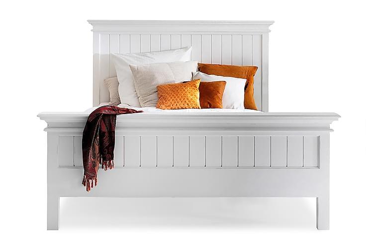 Sängynrunko Halifax King Size - 180x200 Valkoinen - Huonekalut - Sängyt - Sänkykehikot & sängynrungot
