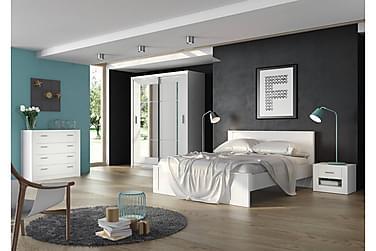 Sängynrunko Ida 140x200 cm Valkoinen