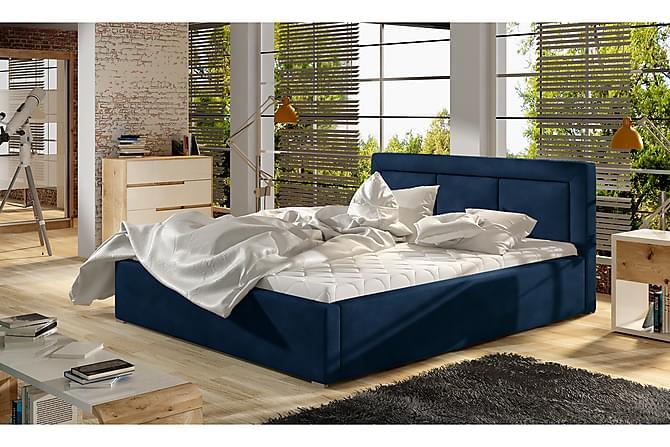 Sängynrunko Rosios 160x200 cm - Sininen - Huonekalut - Sängyt - Sänkykehikot & sängynrungot