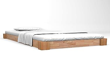 Sängynrunko täysi tammi 180x200 cm