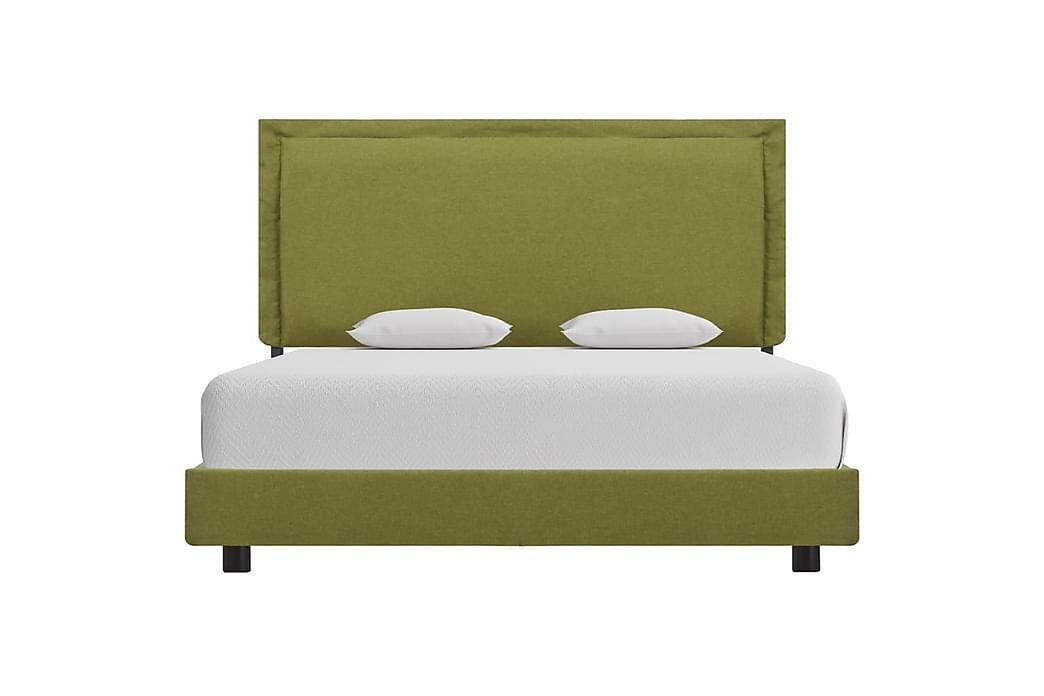 Sängynrunko vihreä kangas 120x190 cm - Vihreä - Huonekalut - Sängyt - Sänkykehikot & sängynrungot