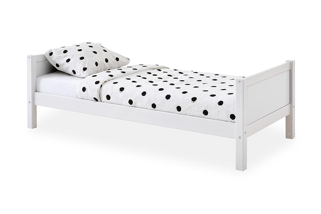 Sänky Basic 90x200 Valkoinen - Flexa - Huonekalut - Sängyt - Sänkykehikot & sängynrungot