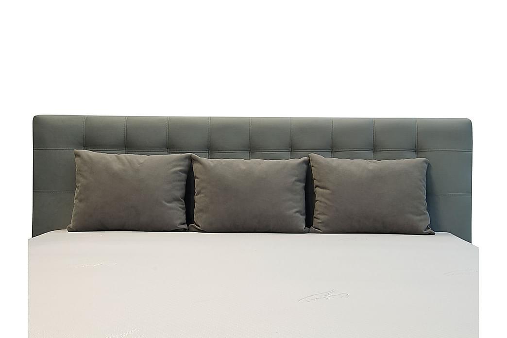 Sänky Girton säilytyksellä 160x200 - Harmaa - Huonekalut - Sängyt - Sänkykehikot & sängynrungot