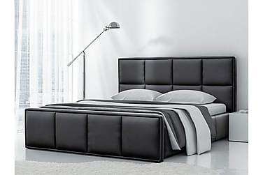 Sänky Herlinda säilytyksellä 160x200