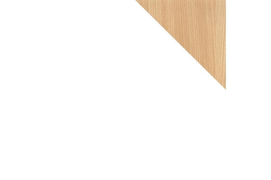 Sänky Rosa 99x209 cm - Valkoinen - Huonekalut - Sängyt - Sänkykehikot & sängynrungot