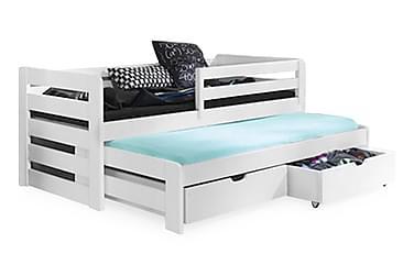 Sänky Tilja 80x180 Lisäsängyllä ja säilytyksellä