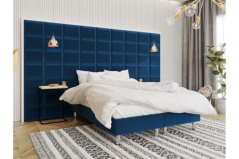 Jenkkisänky Forenza 140x200 cm+Paneeli 40 cm - Sininen - Huonekalut - Sängyt - Sänkypaketti