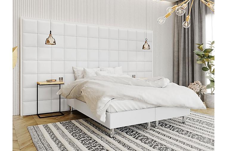 Jenkkisänky Forenza 180x200 cm+Paneeli 30 cm - Valkoinen - Huonekalut - Sängyt - Sänkypaketti