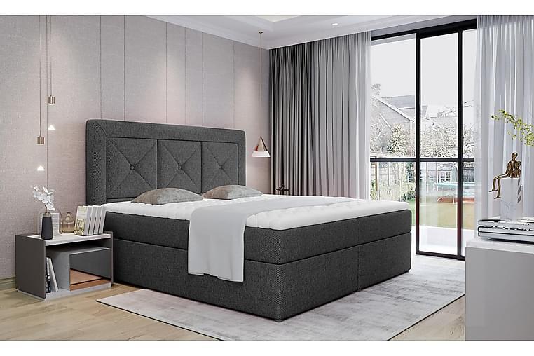 Sänkypaketti Cataloba 180x200 cm - Harmaa - Huonekalut - Sängyt - Sänkypaketti
