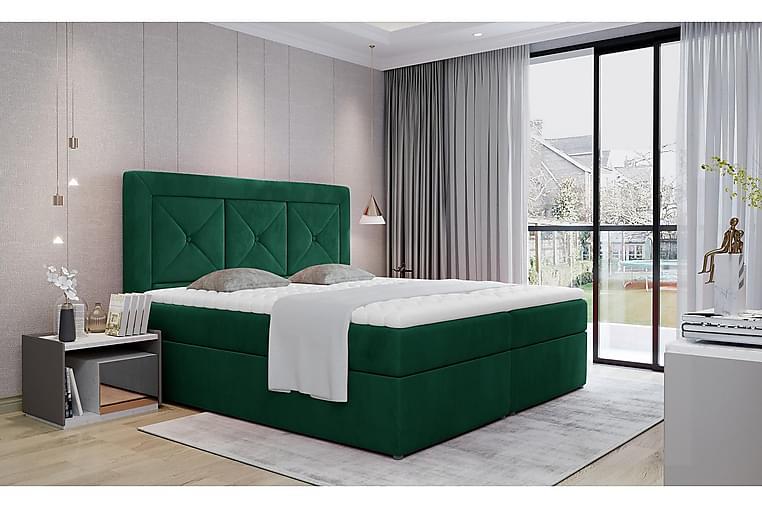 Sänkypaketti Cataloba 180x200 cm - Vihreä - Huonekalut - Sängyt - Sänkypaketti