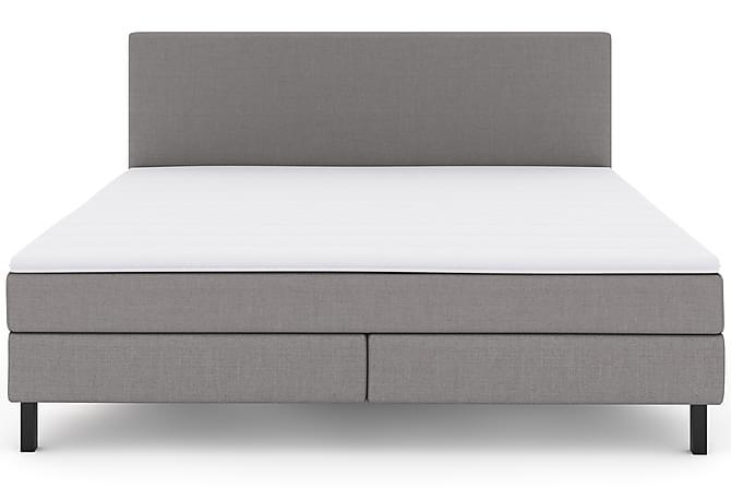 Sänkypaketti Choice No 2 210x210 - Vaaleanharmaa/Musta - Huonekalut - Sängyt - Sänkypaketti