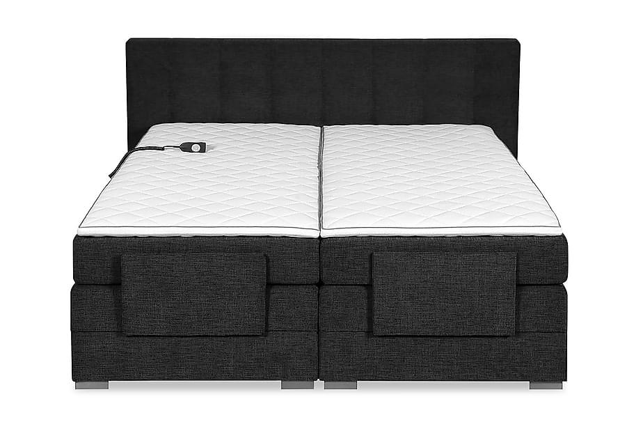 Sänkypaketti Gry Säädettävä Sänky Tummanharmaa
