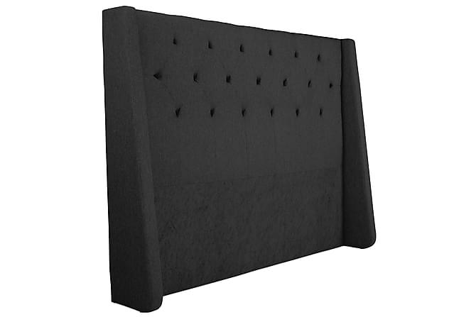 Sänkypaketti Langham 180x200 cm Musta - Huonekalut - Sängyt - Sänkypaketti